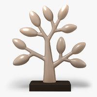 clay tree 3D