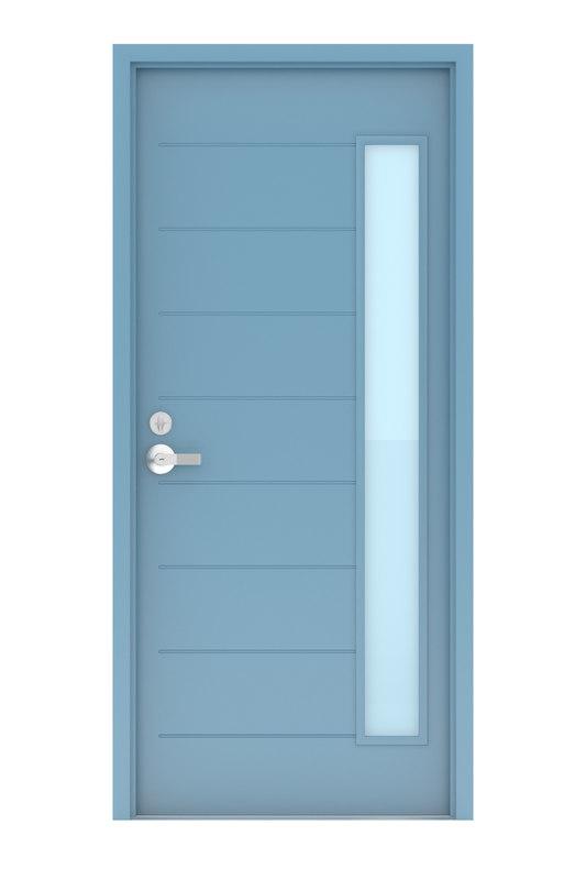 3D aluminum door