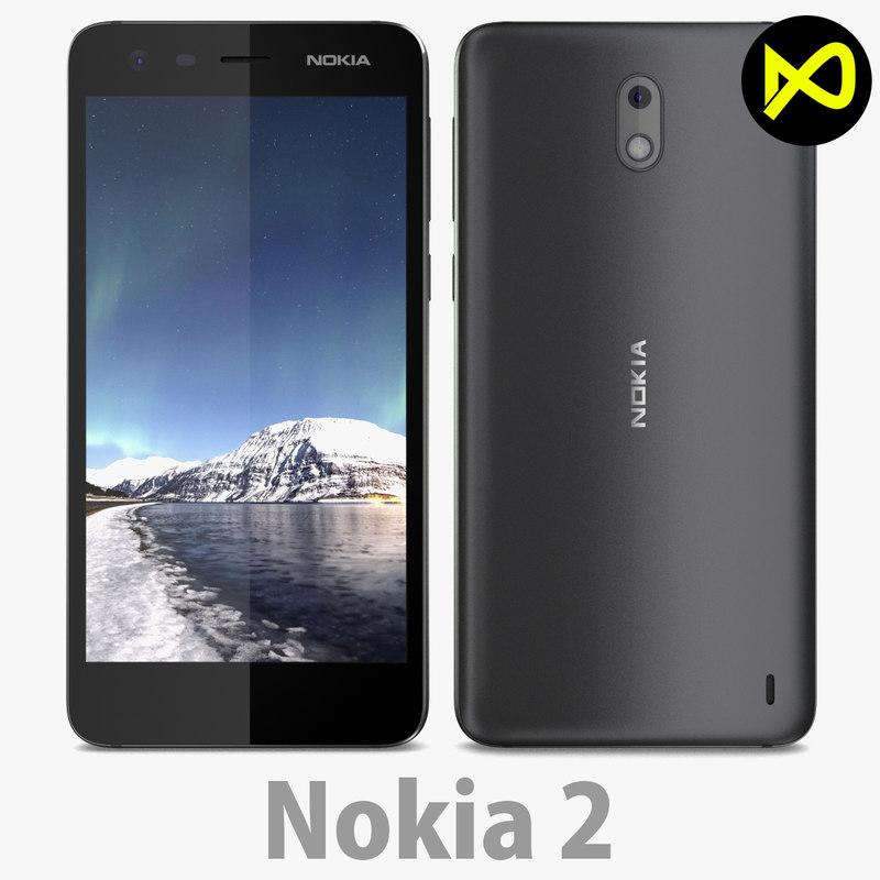 smartphones 2 3D model