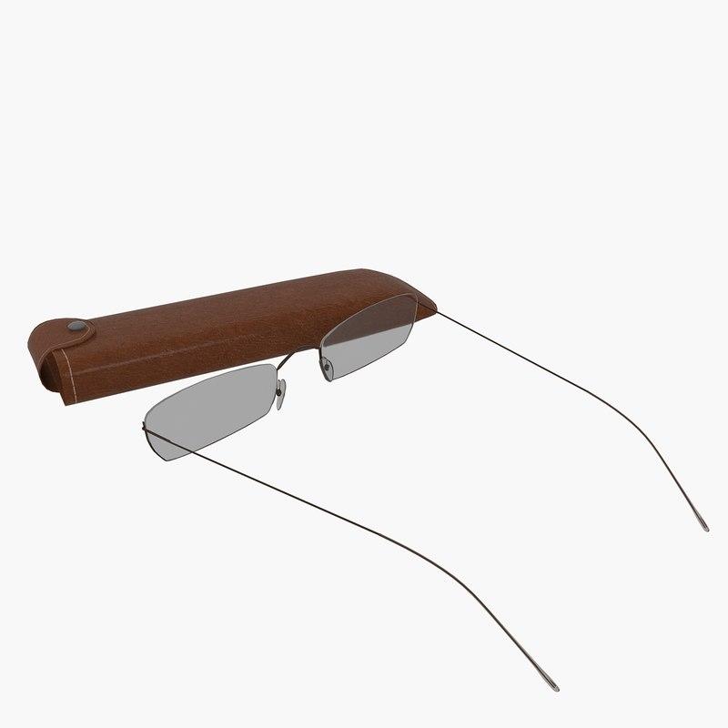 eyeglasses glasses eye 3D model