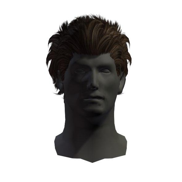 Hair 3d Model Turbosquid 1222622