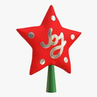 cr01 christmas tree star 3D