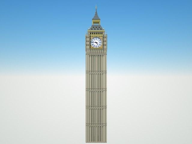 big ben london model