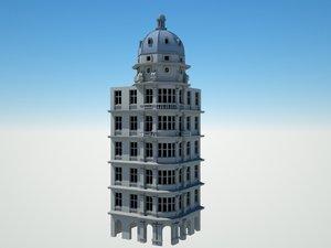 3D building big ben