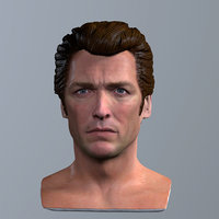 printable clint eastwood dirty 3D model