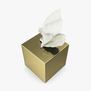 napkins box model