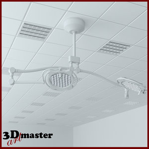 3D medical surgical led lighting