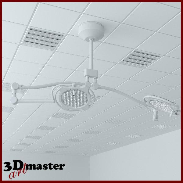 3D medical surgical led lighting