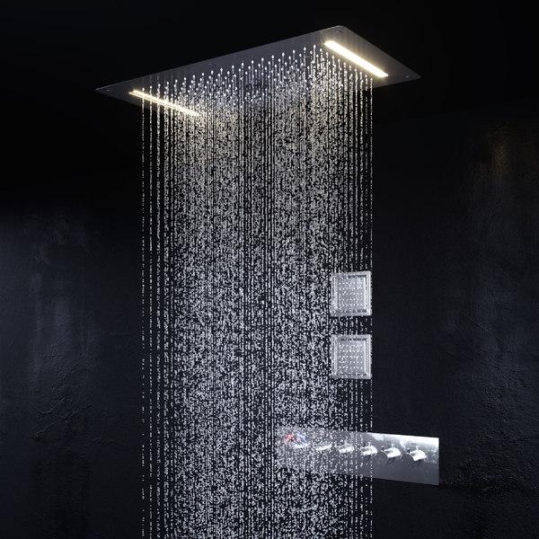 shower waterfall simulation 3D model
