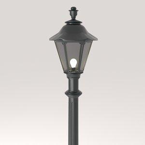 street lamp 2 3D