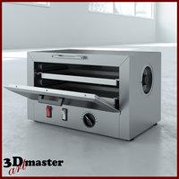 3D model medical dry heat sterilizer