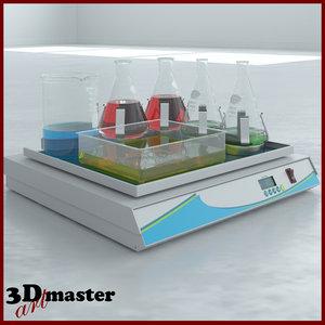 3D surgical case cart -