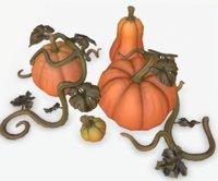 Cartoon Pumpkins