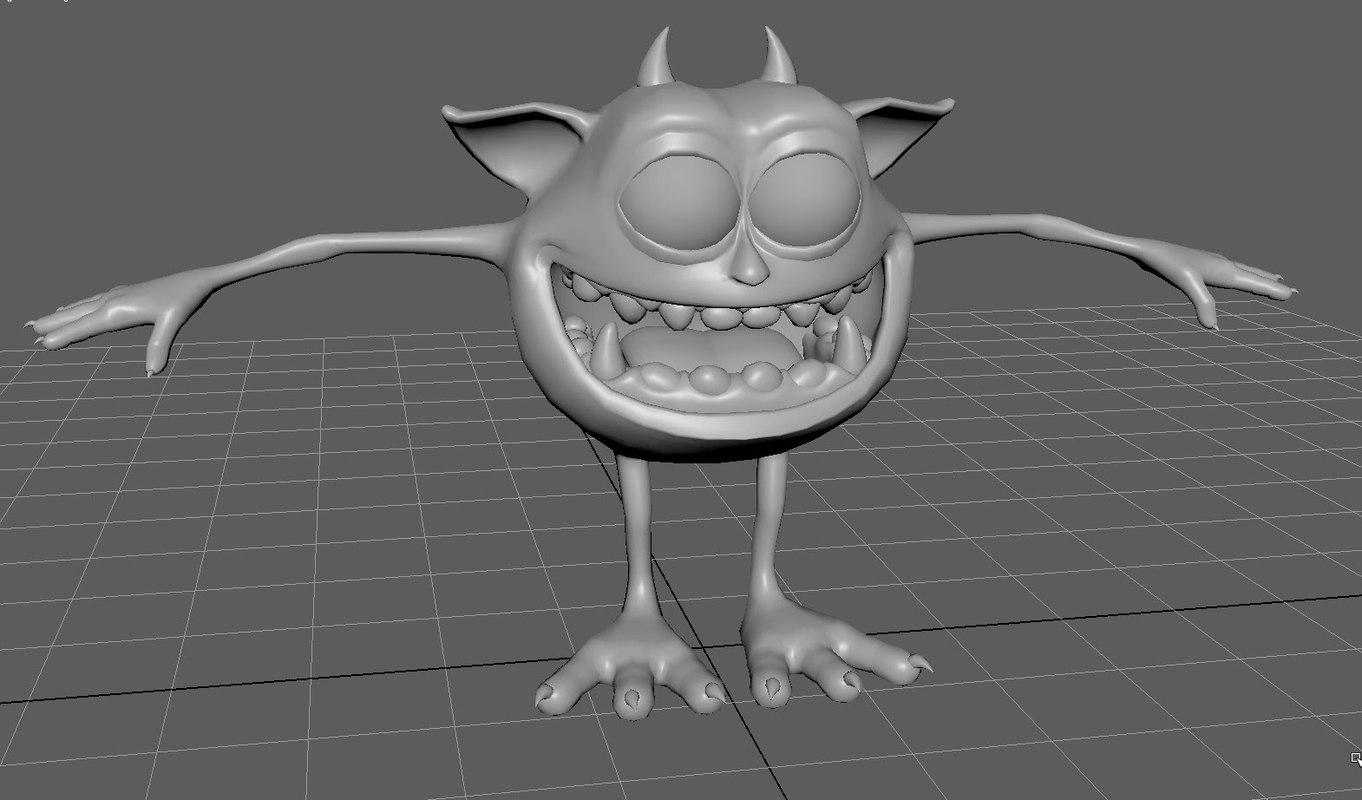 small creature devil model