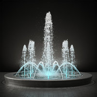 pool fountain 3D model