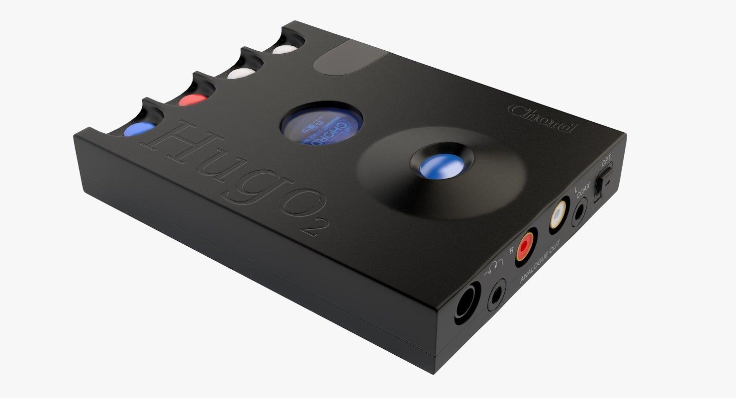 3D chord headphone amplifier