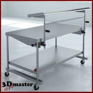 3D speciality table station