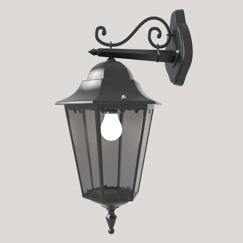 3D lantern design model