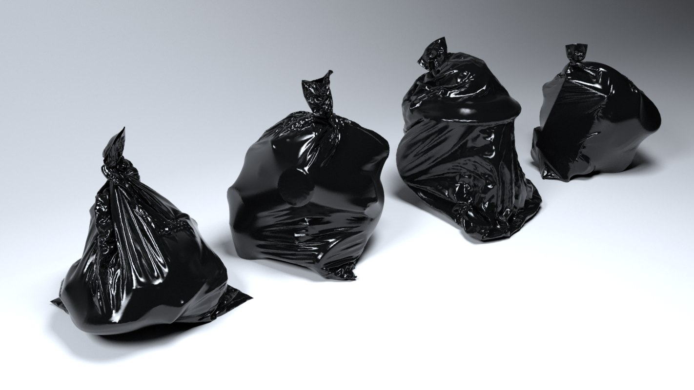 3D trash bags sets