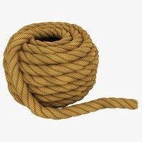 rope pose 2 3D