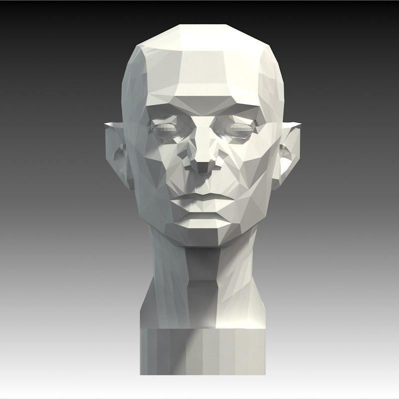 Planar Head Artistic Anatomy Model Turbosquid 1222763