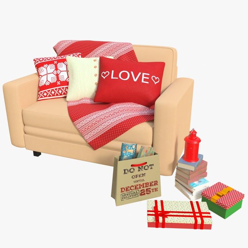 cr01 sofa 01 3D model