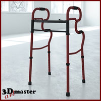 3D adult stand-assist walkers model
