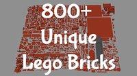 800+ Lego Pieces