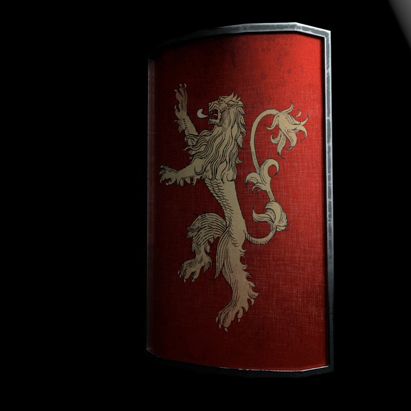 3D lannisters thrones