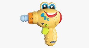3D toy berto il trapano