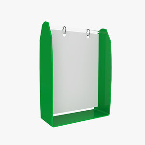 3D holder plastic