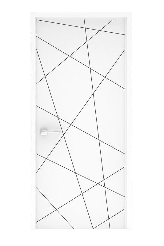aluminum door 3D