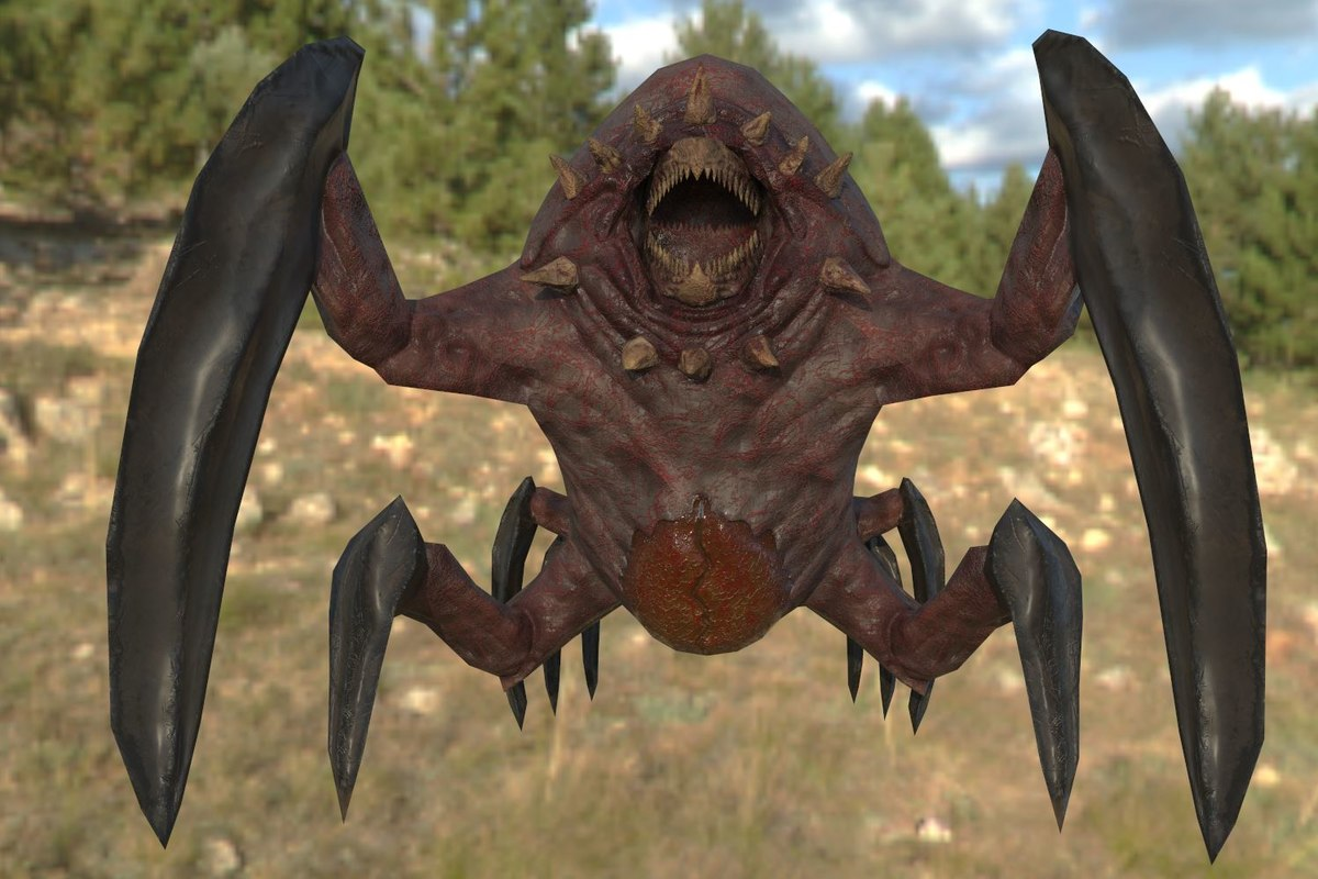 alien creature model