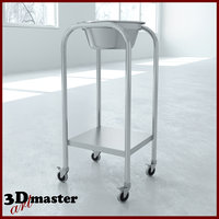 3D model medical stool whith