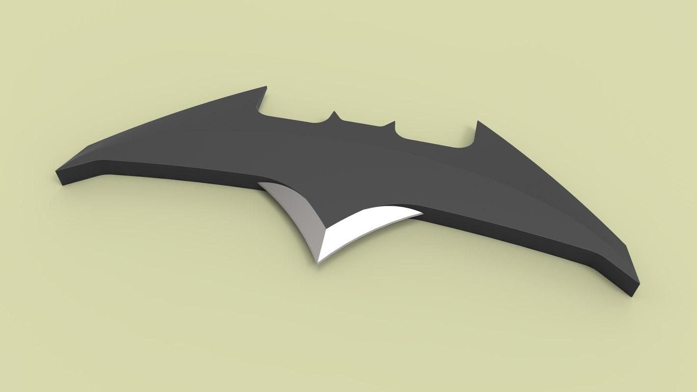 3D batarang model