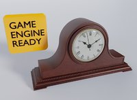 Simple Mantel Tabletop Clock