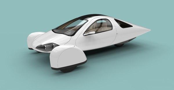 3D aptera vehicles model