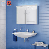 Bathroom interior scene 005 LE100