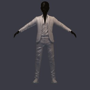 3D stylish subdivision base avatar