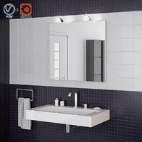 Bathroom interior scene 006 ideal