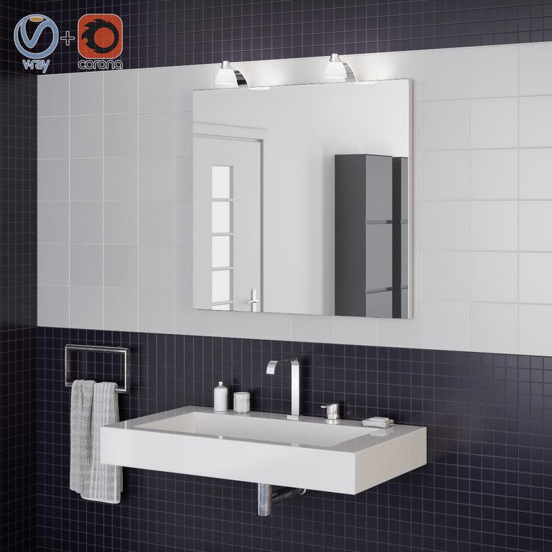 bathroom interior scene model