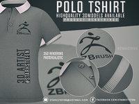 3D tshirt polo polotshirt