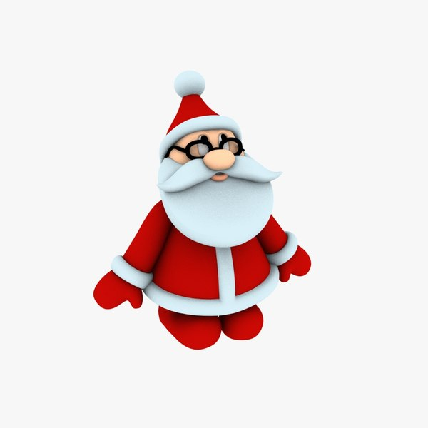 new cool santa claus 3D