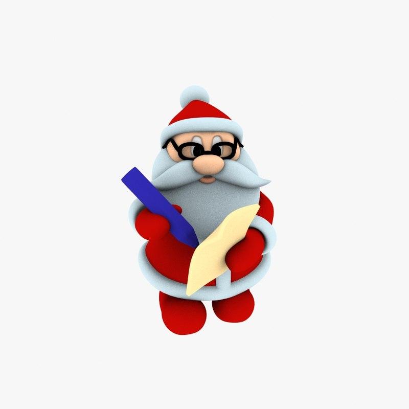 new cool santa claus model