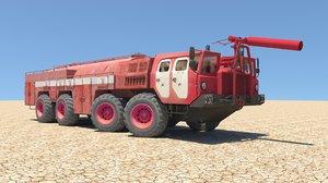 3D maz truck