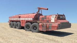 3D truck heavy model