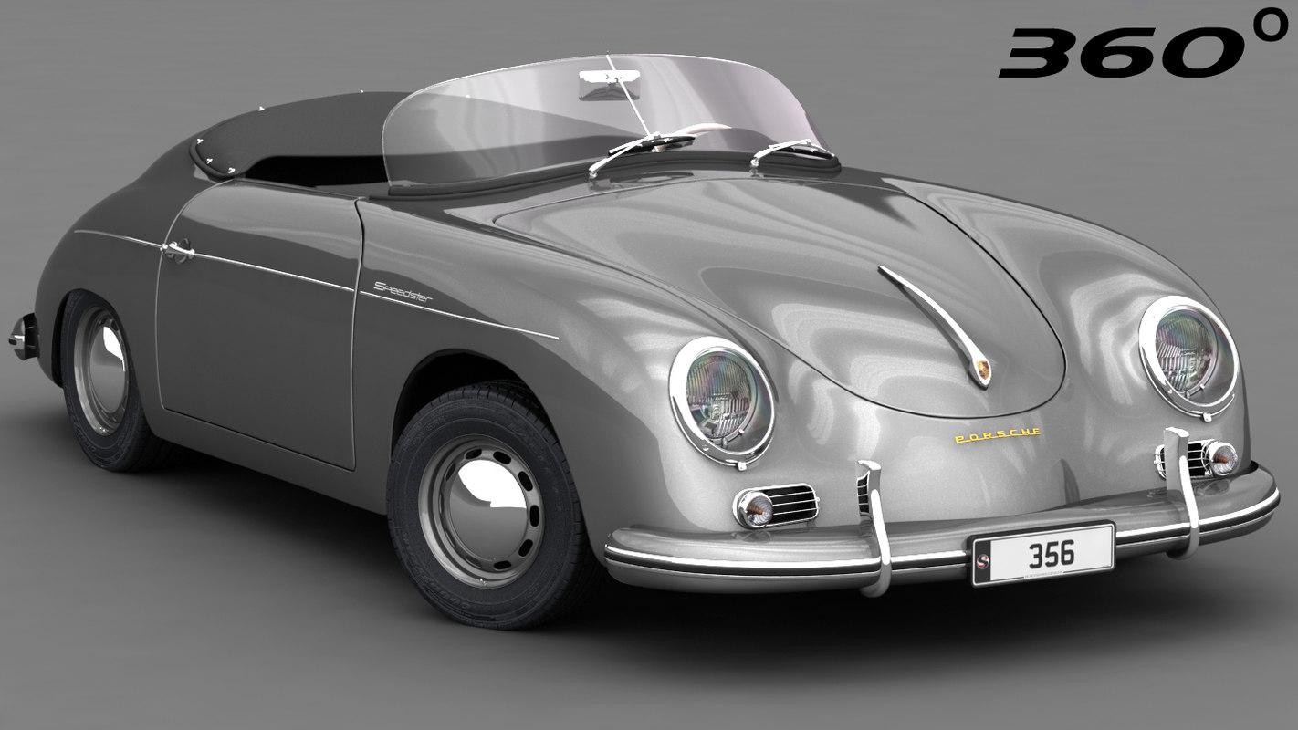 porsche 356 speedster 1950 model