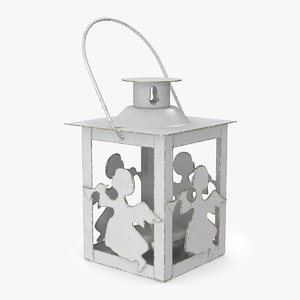 3D christmas angel lantern