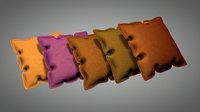 cushion sofa pillow 3D model