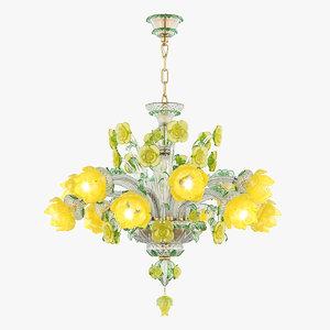 3D model chandelier md 89330-6 6